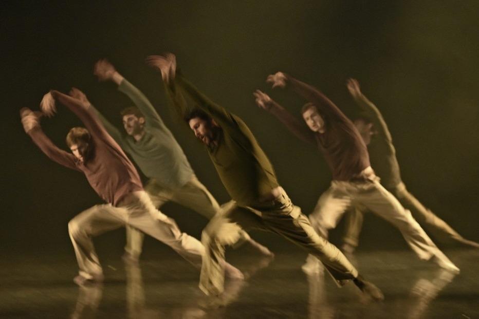 """Zeitgenössischer Tanz mit Programm """"Mega Israel"""" und der Gauthier Dance Company im Lörracher Burghof - Badische Zeitung TICKET"""