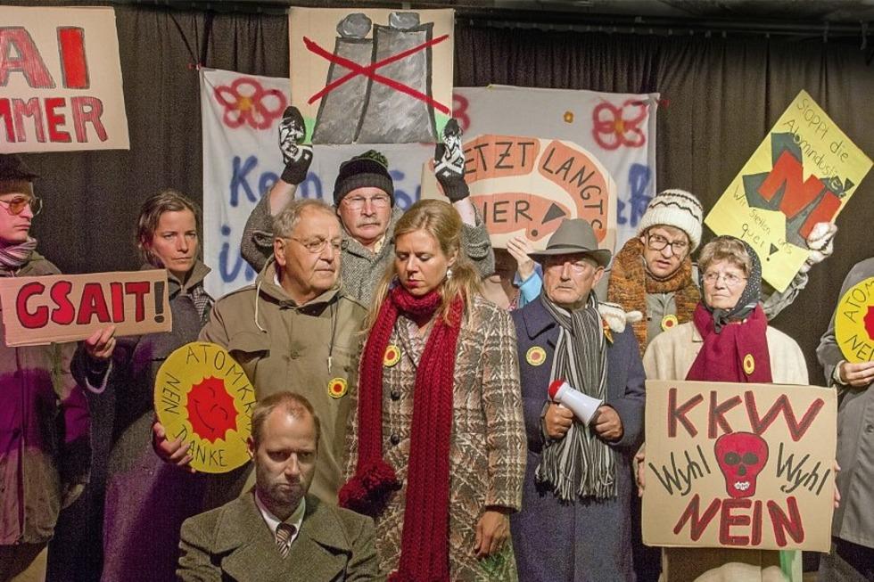 Theaterbühne im Keller gastiert in Bahlingen - Badische Zeitung TICKET