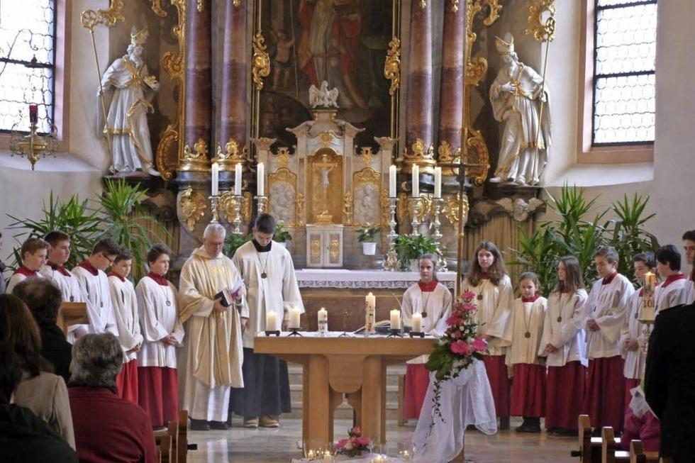 St. Mansuetus Kirche (Kirchhöfe) - Biederbach