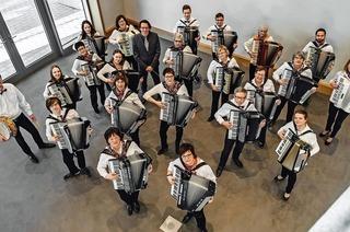 Bunte Bilderwelt mit Musik beschreiben: Der Akkordeon-Club Kirchzarten versucht dies bei seinem Jahreskonzert