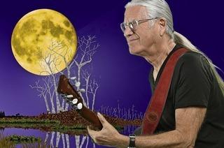 Songs aus seiner neuen CD Gääle Mond und alte Hits