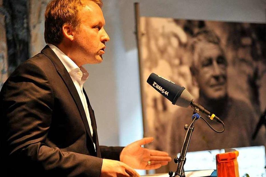 Fotos: Verleihung des Peter-Huchel-Preises 2019 an den Lyriker Thilo Krause