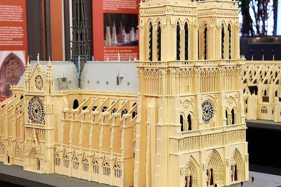 Fotos: Ausstellung in Freiburg zeigt Modelle weltberühmter Kathedralen