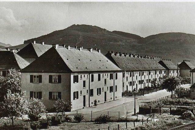 Als in den 50er Jahren in Haslach viel neuer Wohnraum geschaffen wurde