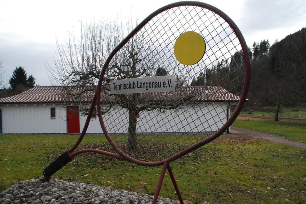 Tennisplatz TC Langenau - Schopfheim