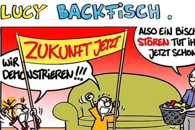 Lucy Backfisch: Die Demonstration