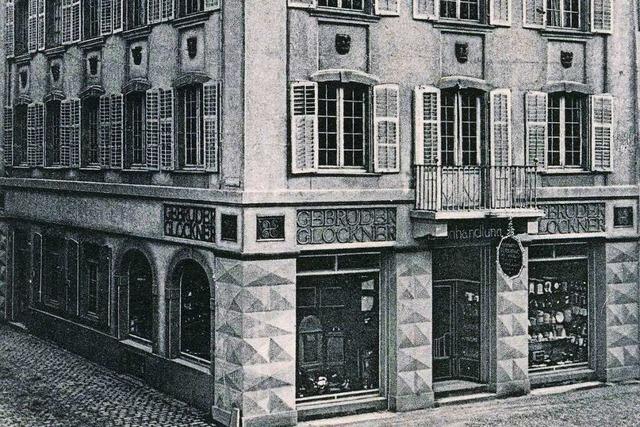Wo heute Sport-Bohny in der Freiburger Innenstadt liegt, war früher eine Eisenhandlung