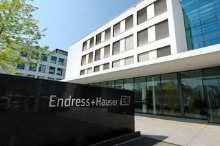 Die Endress + Hauser-Gruppe ist zurück auf dem Rekordkurs