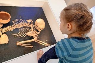 Fühlen und staunen: Archäologisches Museum Freiburg