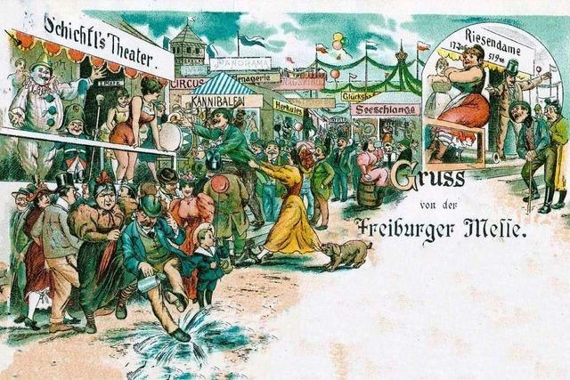 Die Geschichte der Freiburger Jahrmärkte reicht bis ins Mittelalter zurück