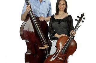 Kammermusik mit Ana Helena Surgik (Violoncello) und Bernd Schöpflin (Kontrabass) bei den Schallbacher Kulturtagen