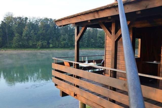 Rheinromantik erleben in einer kleinen Fischerhütte