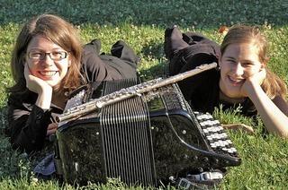 Duo Flakkanto musiziert in Heitersheim