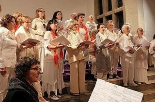Omkara Chor Freiburg singt in Müllheim