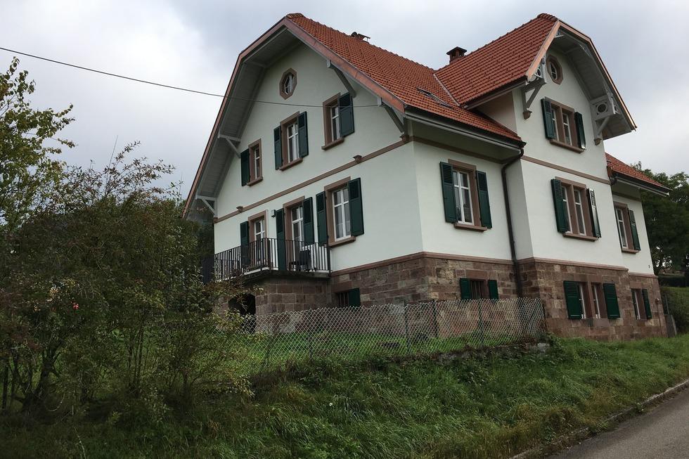 Ev. Pfarramt (Schlächtenhaus) - Steinen