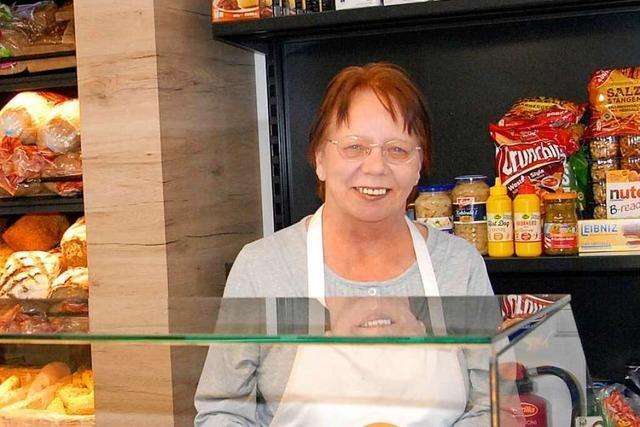 Seit 12 Jahren hilft Ursula Schimandl einmal pro Woche im Tafelladen