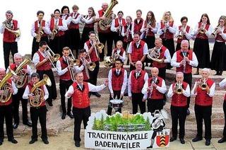Trachtenkapelle spielt in Badenweiler