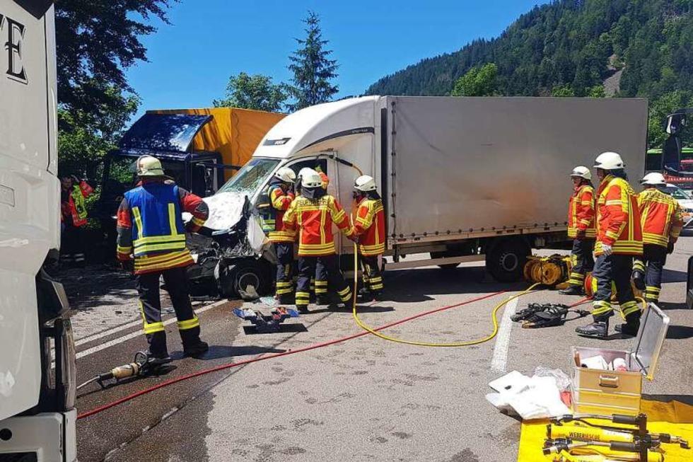 B31 im Höllental ist nach Lastwagenunfall wieder frei - Badische Zeitung TICKET