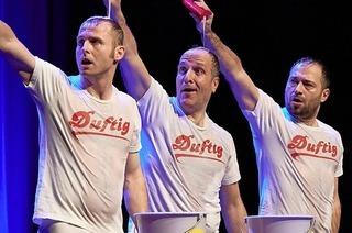 Trio Eure Mütter gibt im März 2020 Vorstellung im Gloria-Theater Bad Säckingen