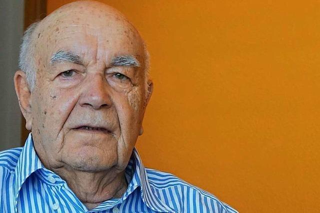 Gerhard Gries aus Schopfheim erinnert in seinen Memoiren an schwere Zeiten im Krieg