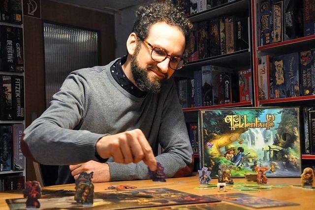 Wie ein Freiburger mit einem Brettspiele-Verlag durchstarten will