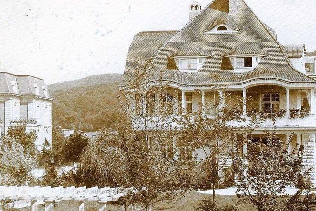 Auf dem Gelände des ehemaligen Adelheid-Testa-Hauses befand sich einst eine Villa