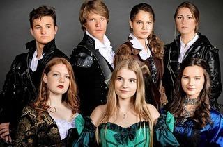 """""""Die drei Musketiere mit der Musical-Company des Lise Meitner Gymnasiums in Grenzach-Wyhlen"""