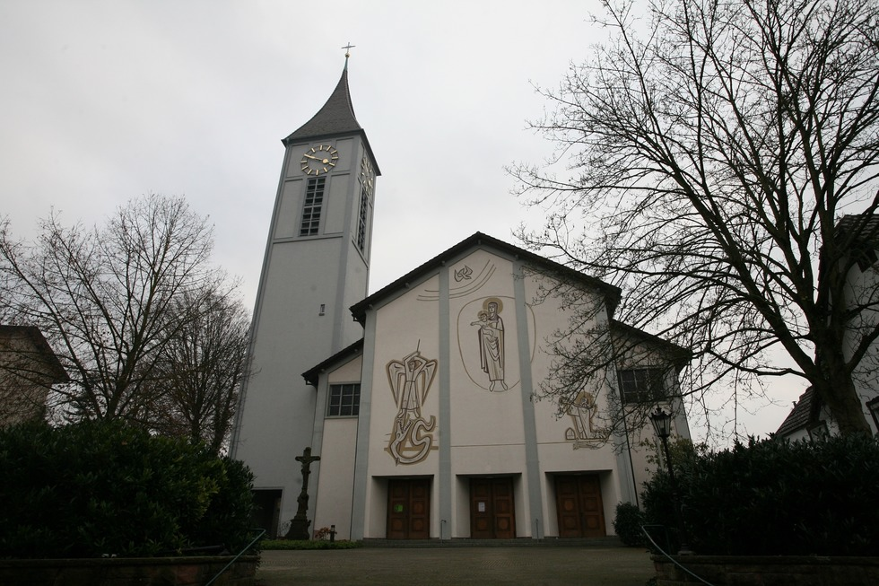 Kath. Pfarrkirche St. Leodegar (Oberschopfheim) - Friesenheim