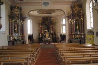 Pfarrkirche St. Leodegar und Marzellus (Hänner)