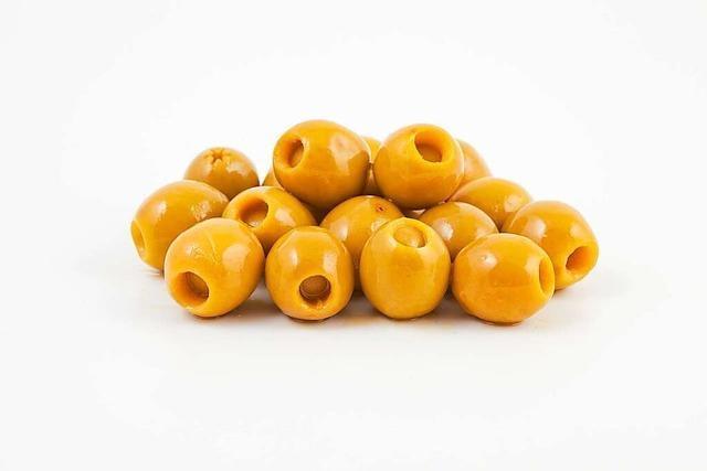 Frucht des Ölbaums: die Olive