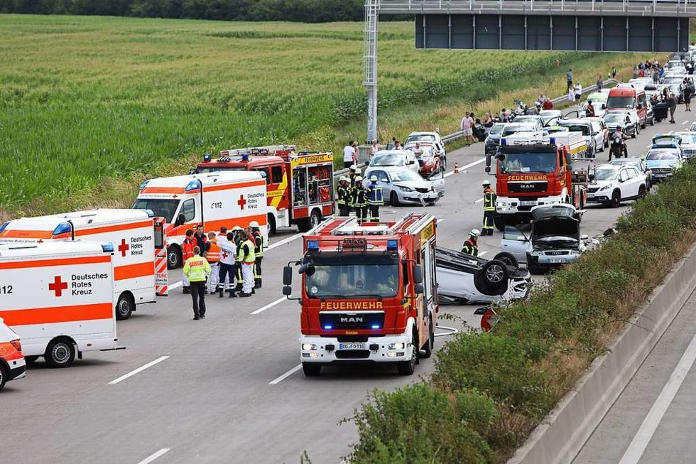 Stau A5 Offenburg