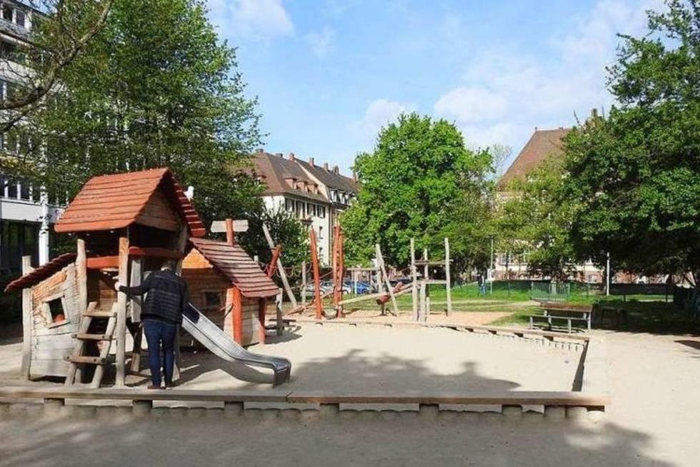 Spielplatz am Stühlinger Kirchplatz - Freiburg