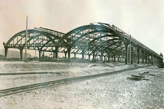 1913 war der Badische Bahnhof der teuerste und größte Bahnhof der Schweiz