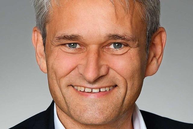 Martin Löffler kandidiert bei Bürgermeisterwahl in Müllheim