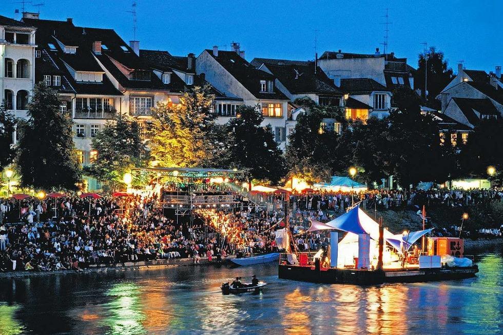 Floß Oberer Rheinweg (Kleinbasel) - Basel
