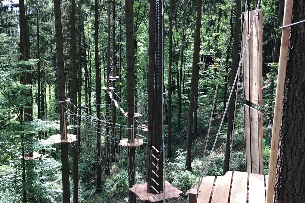 Kletterwald Hochempor - Bad Säckingen