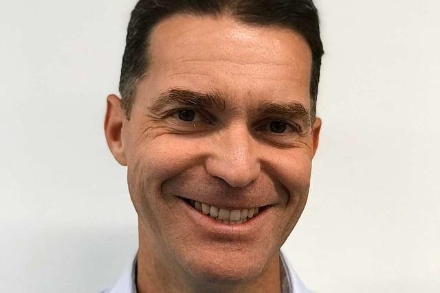 Michael Burg bewirbt sich um das Amt des Müllheimer Bürgermeisters