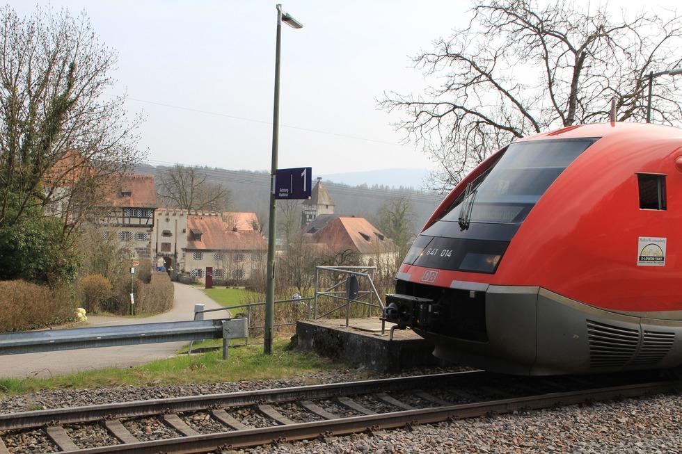 Bahnhof Beuggen - Rheinfelden