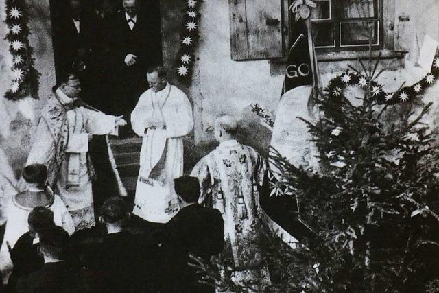 Erich Reitinger war Pfarrer und Chronist des Bergdorfs in der Zeit des Nationalsozialismus