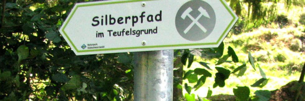 In Münstertal kann man nun auf dem Silberpfad wandern
