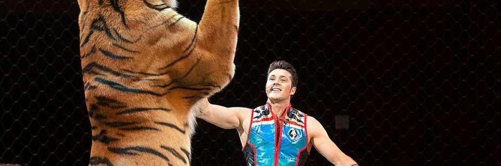 Der Zirkus Charles Knie gastiert in Freiburg