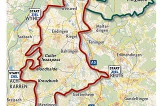 Kaiserstuhl-Tuniberg-Radtour
