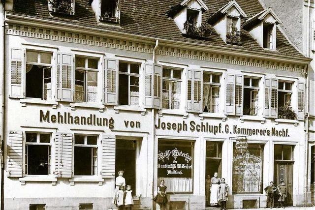 Wo sich heute das Pflegeheim Wichernhaus befindet, war einst eine Mehlhandlung
