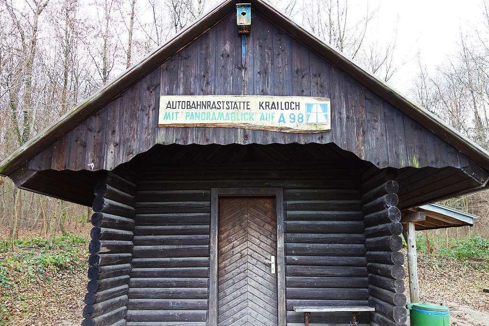 Krailochhütte (bei Degerfelden) - Rheinfelden