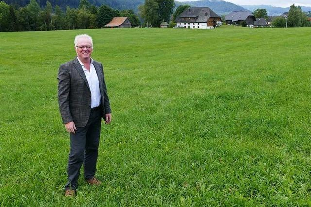 Rundgang mit Kandidaten: Leopold Winterhalder will mehr Bürgerbeteiligung