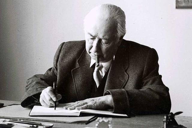 Warum Theodor Heuss fast 80 Gesetze in Lörrach unterschrieben hat