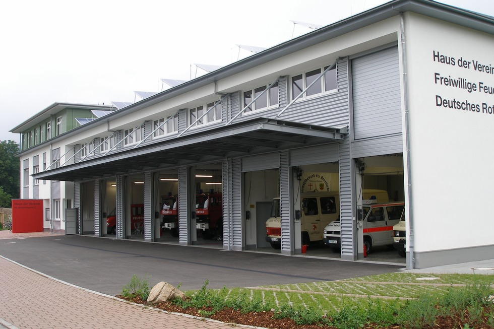Feuerwehrgerätehaus - Stegen