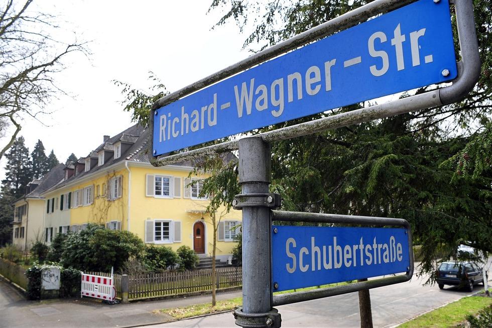 Richard-Wagner Straße (Herdern) - Freiburg