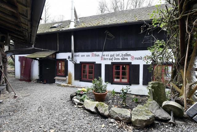 Atelier in der Zähringer Mühle