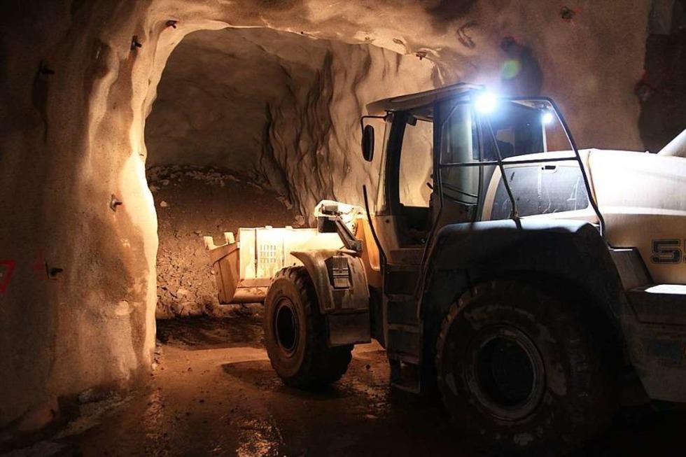 Mineralien-Bergwerk Sachtleben - Oberwolfach